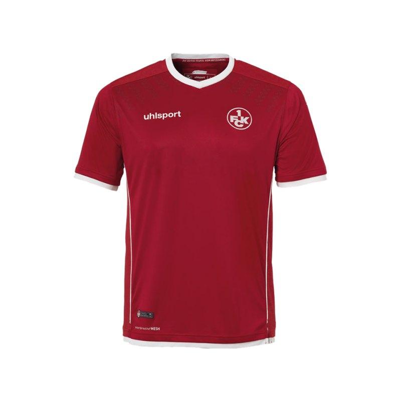 Uhlsport Trikot Home 2017/18 1. FC Kaiserslautern - rot