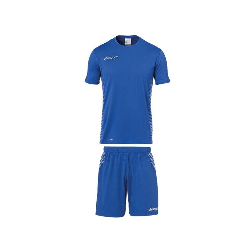 Uhlsport Score Trikotset kurzarm Blau F03 - blau