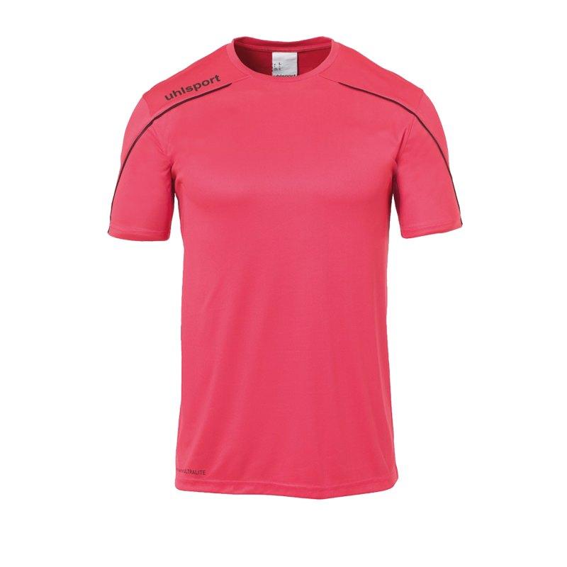 Uhlsport Stream 22 Trikot kurzarm Pink Schwarz F20 - Pink