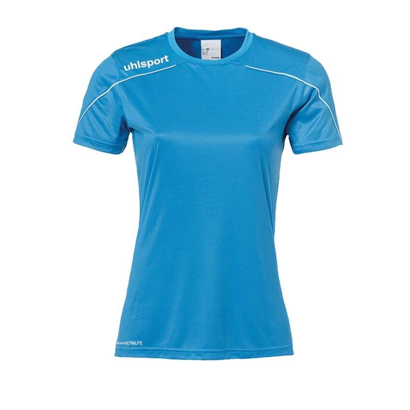 Uhlsport Stream 22 Trikot kurzarm Damen Blau F15 - Blau