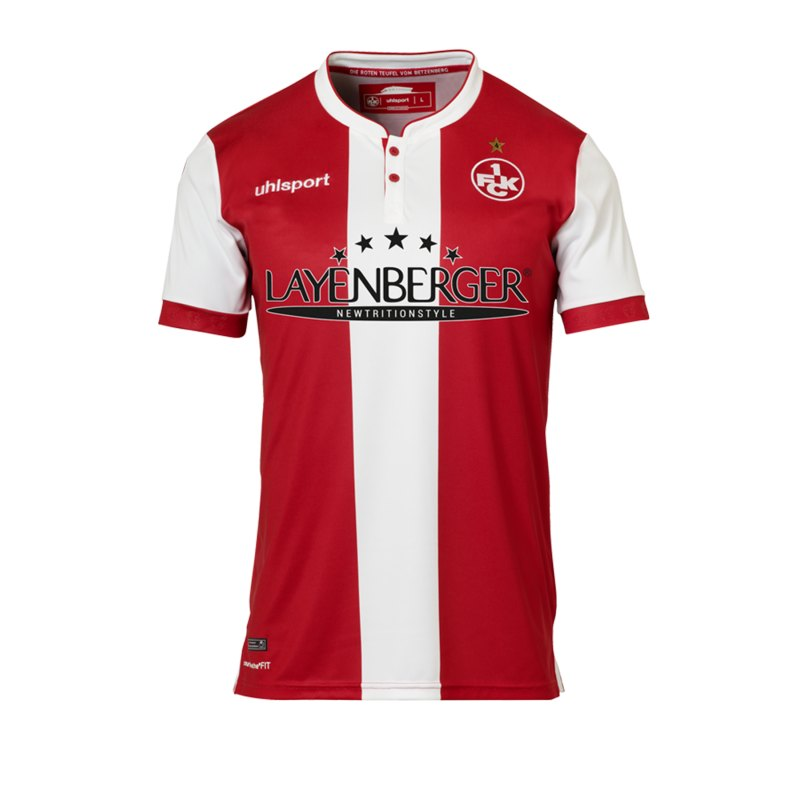 Uhlsport 1. FC Kaiserslautern Trikot Home 2018/19 - rot