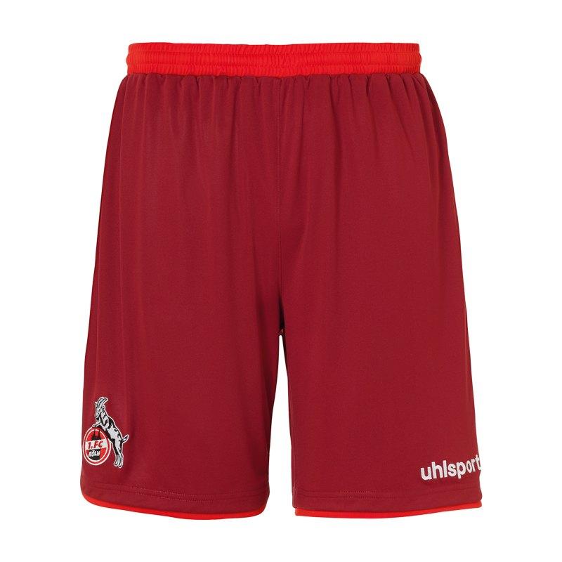 Uhlsport 1. FC Köln Short Away 20/21 Kids - rot