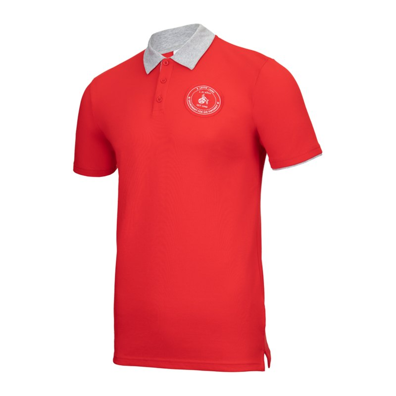 Uhlsport 1. FC Köln Xmas Poloshirt Rot - rot