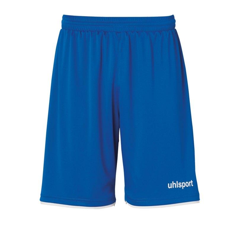 Uhlsport Club Short Kids Blau Weiss F03 - blau