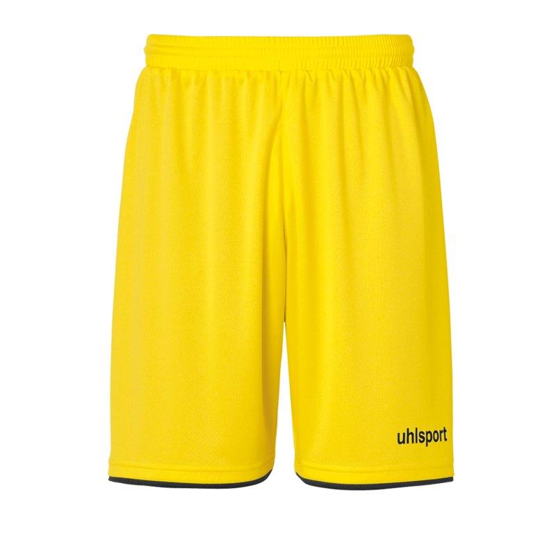 Uhlsport Club Short Kids Gelb Schwarz F07 - gelb