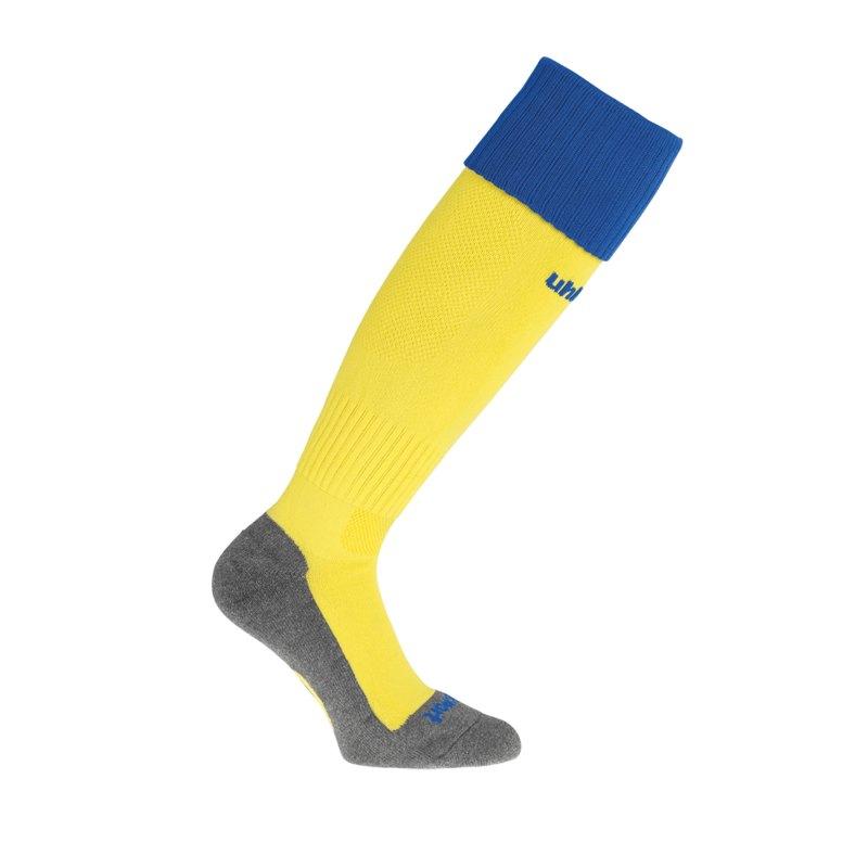 Uhlsport Club Stutzenstrumpf Gelb Blau F11 - gelb