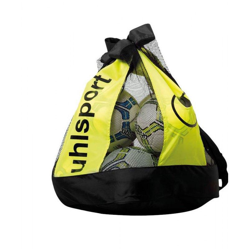 Uhlsport Ballbag Balltasche 12 Bälle Schwarz F02 - schwarz