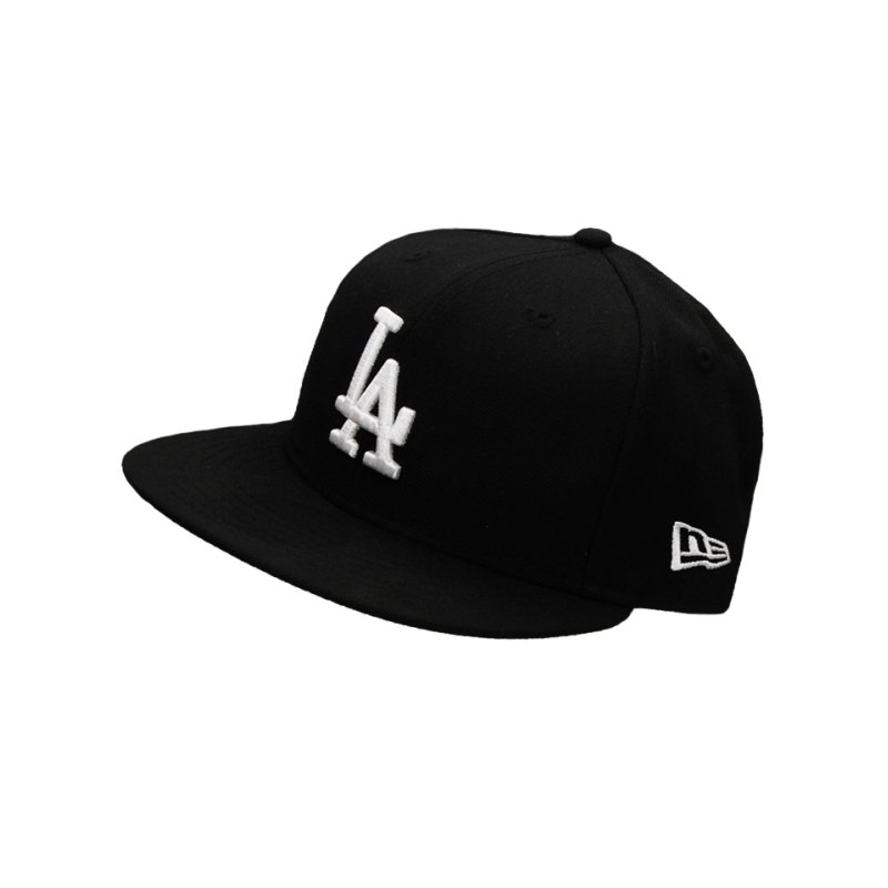 New Era Fitted Cap Los Angeles Dodgers MLB Schwarz - schwarz