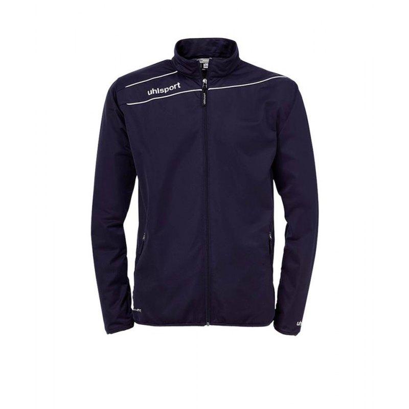 Uhlsport Stream 3.0 Classic Trainingsjacke Dunkelblau F03 - blau