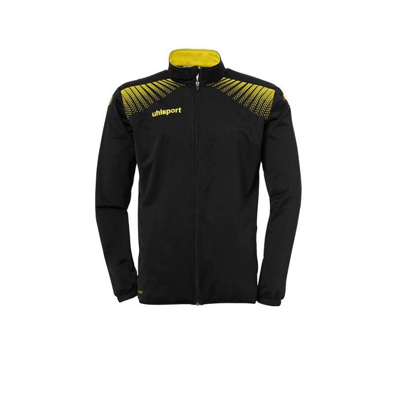 Uhlsport Trainingsjacke Goal Kinder Schwarz Gelb F08 - schwarz