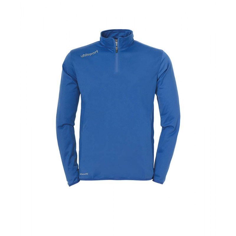 Uhlsport Ziptop Essential Kinder Blau Weiss F02 - blau