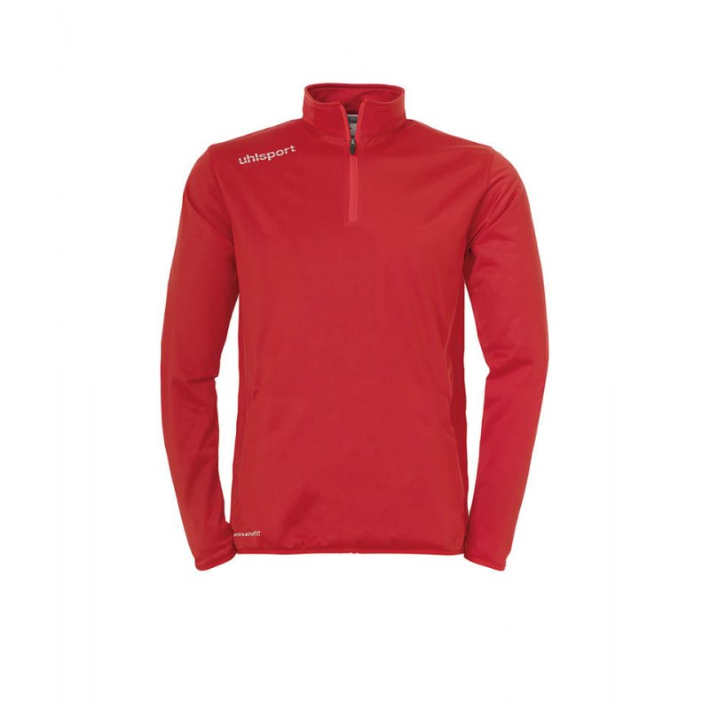 Uhlsport Ziptop Essential Kinder Rot Weiss F03 - rot