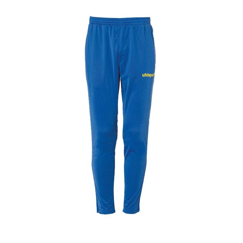 Uhlsport Stream 22 Trainingshose Blau Gelb F14 - Blau