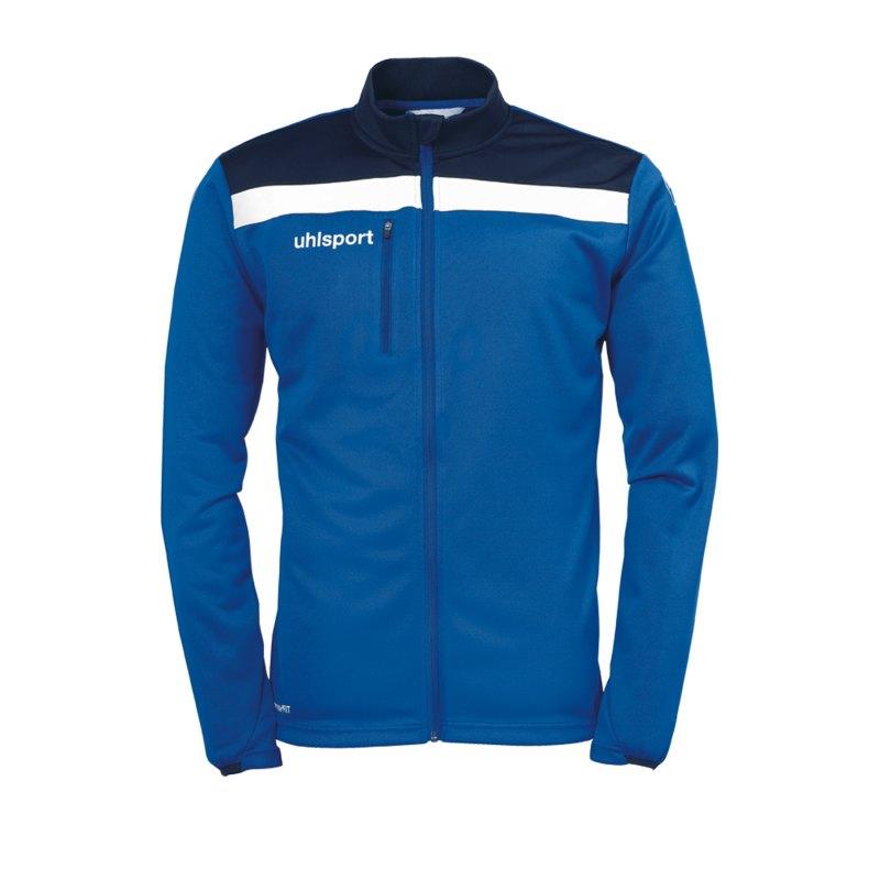 Uhlsport Offense 23 Trainingsjacke Kids Blau F03 - blau