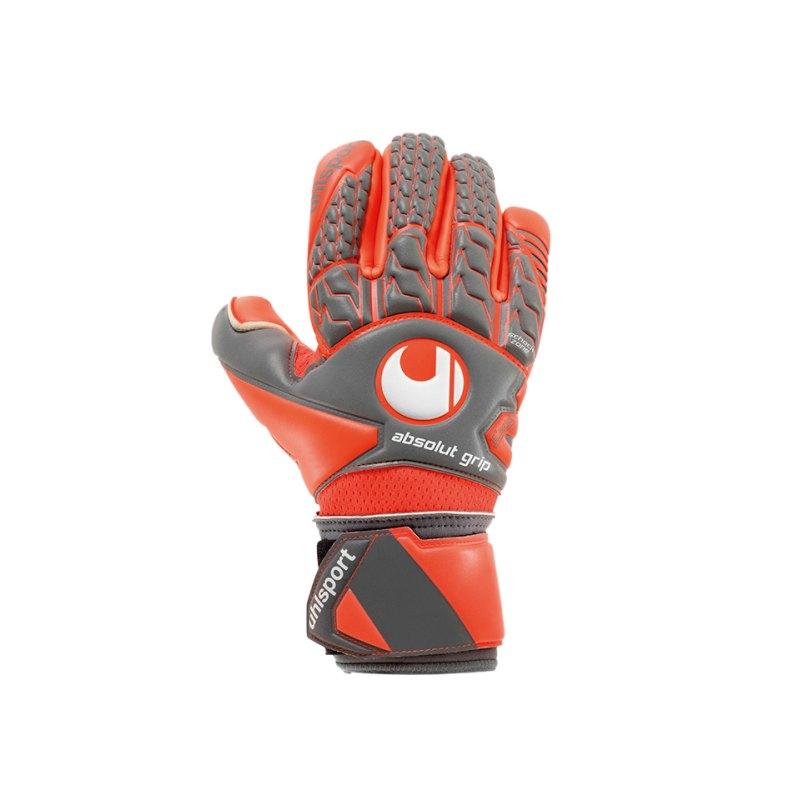 Uhlsport Absolutgrip Finger Surround Handschuh F02 - grau