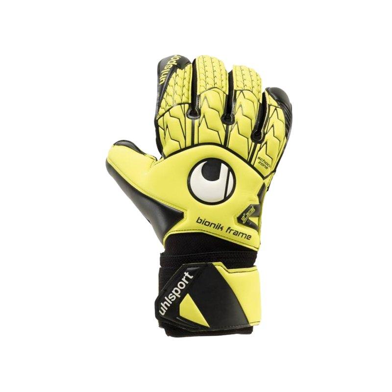 Uhlsport Supersoft Bionik Torwarthandschuh F01 - gelb
