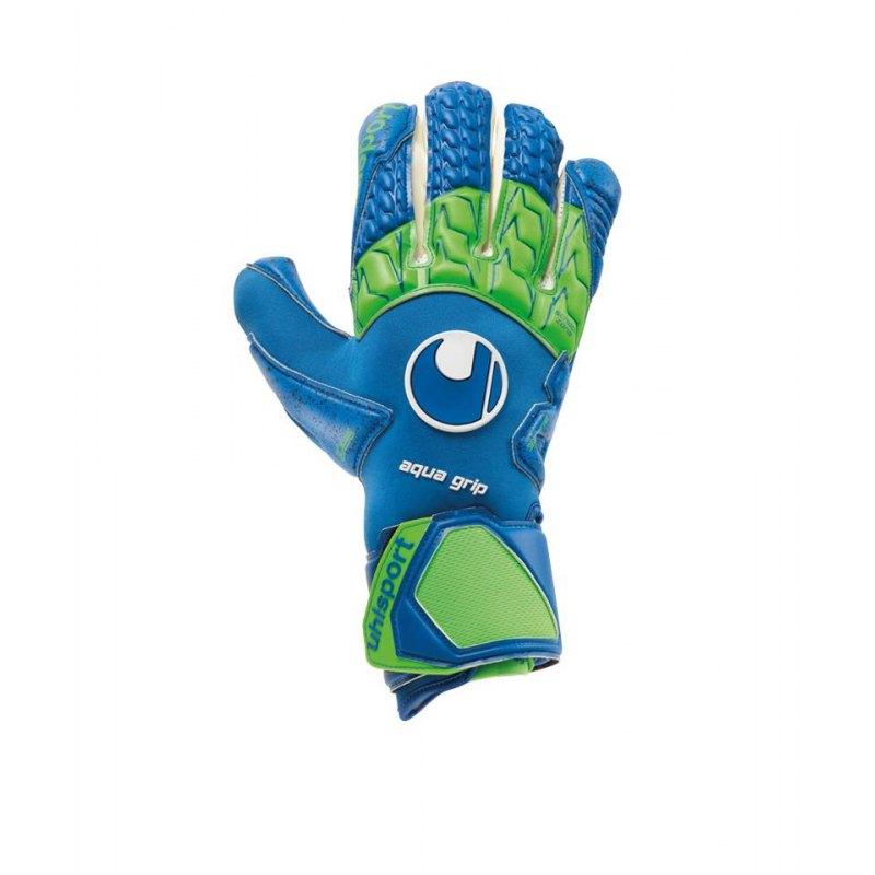 Uhlsport Aquagrip HN Torwarthandschuh Blau F01 - blau
