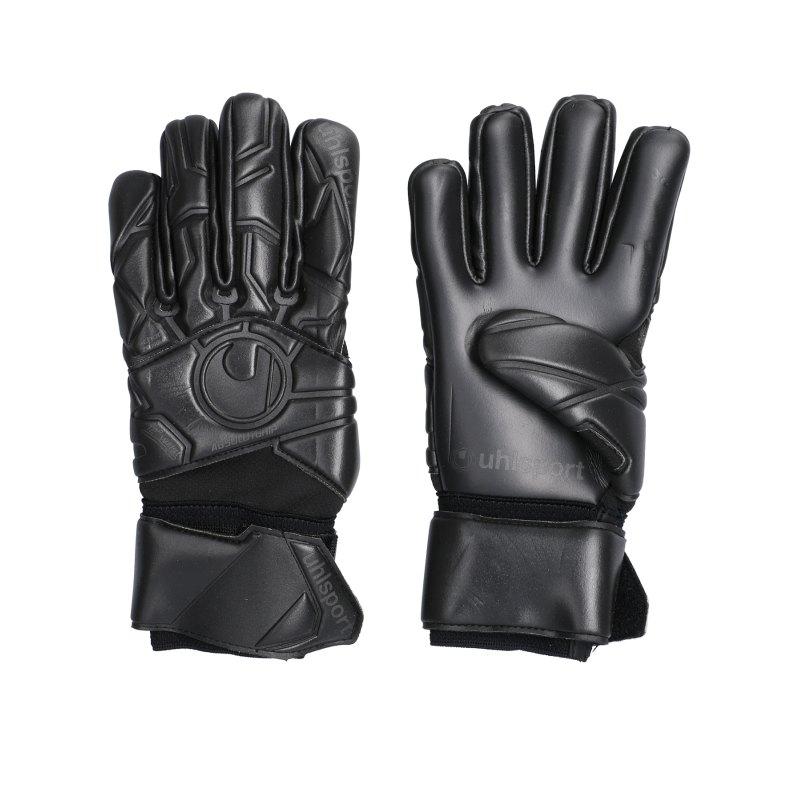 Uhlsport Black Edition Absolutgrip Handschuh F01 - schwarz