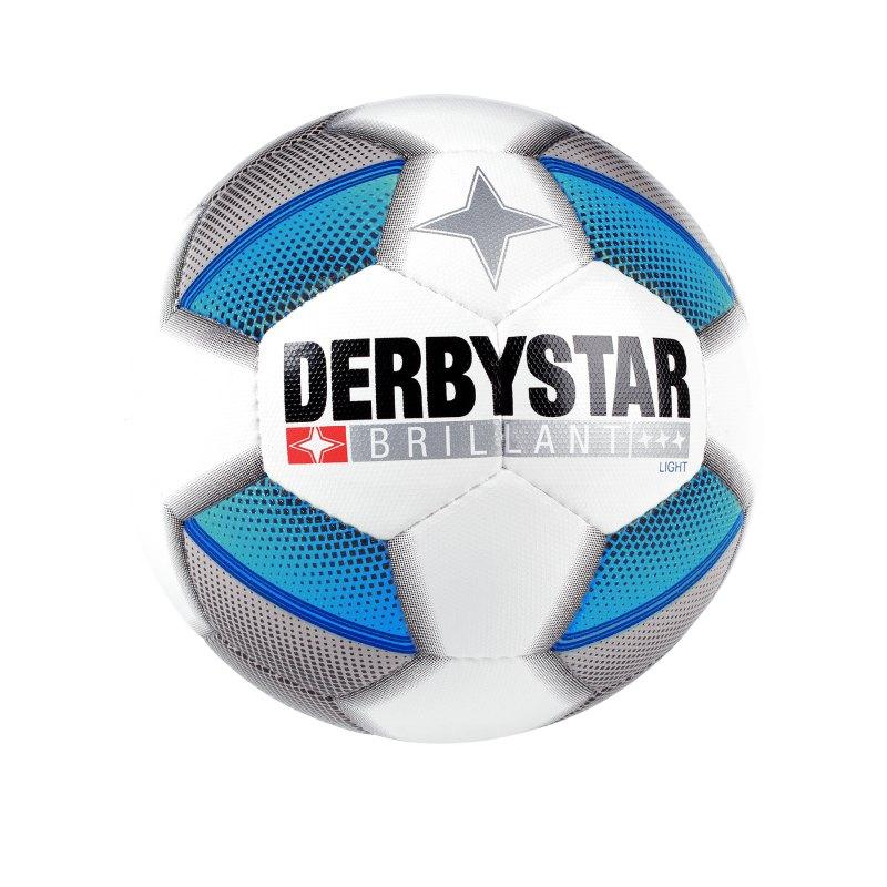 Derbystar Brillant Light 350 Gramm Trainingsball Weiss F162 - weiss