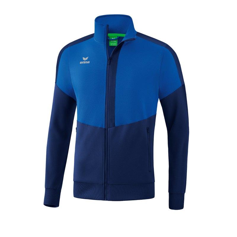 Erima Squad Trainingsjacke Blau - blau