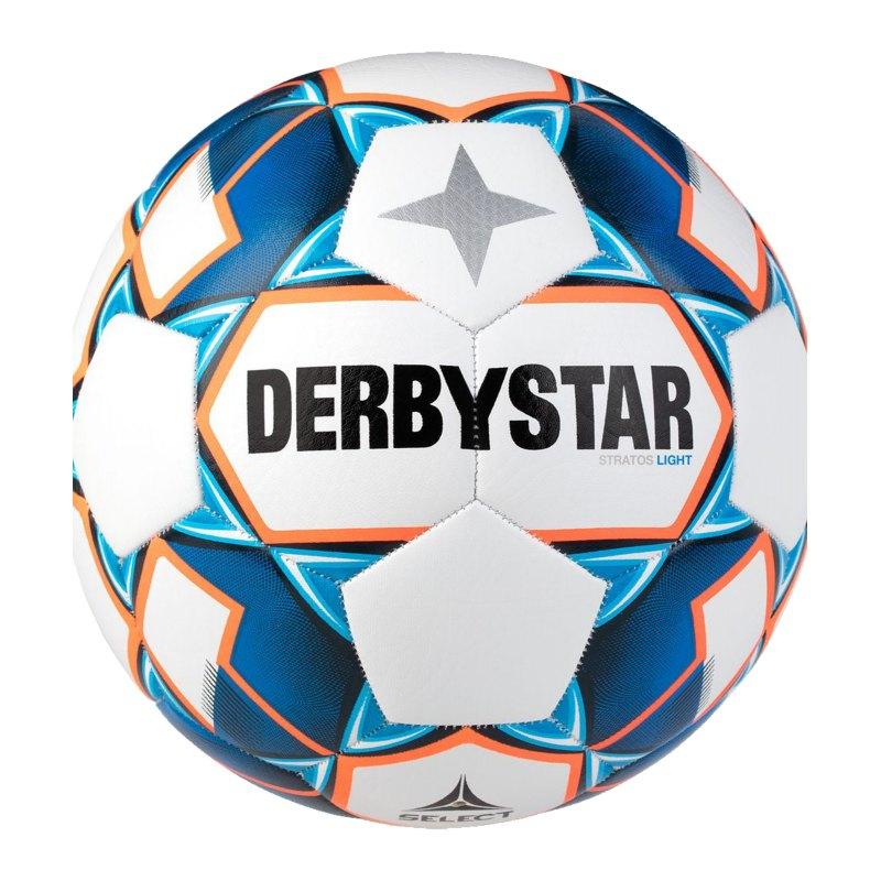 Derbystar Stratos Light v20 Trainingsball F167 - weiss