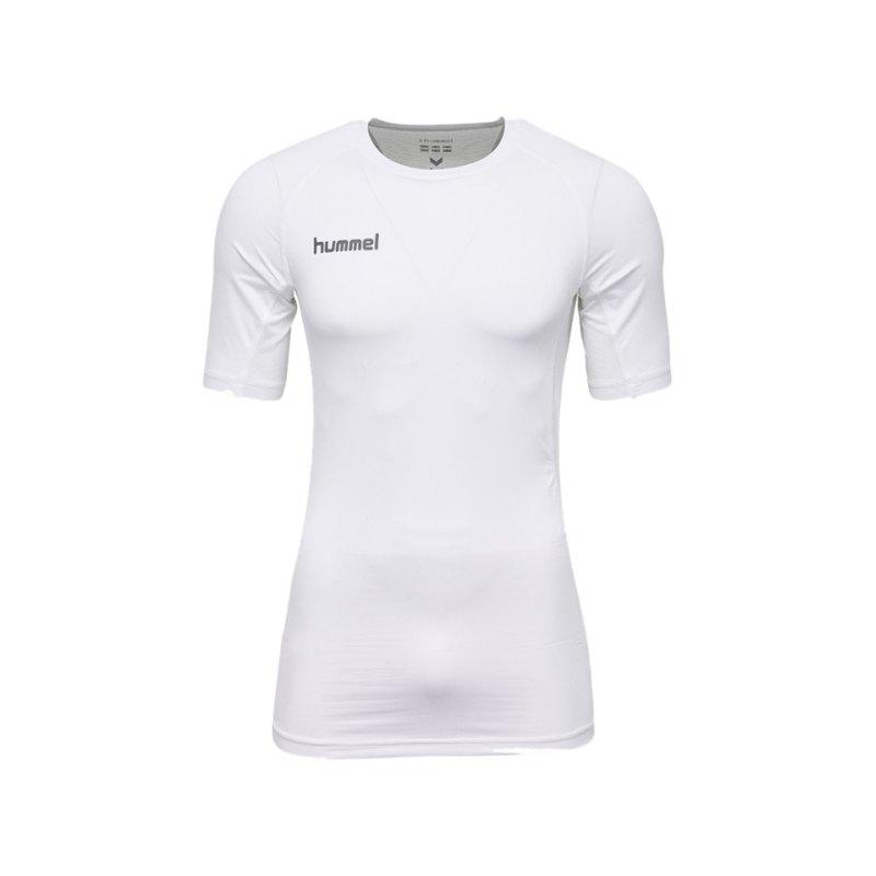 Hummel First Performance Shirt kurz Kids F9001 - weiss