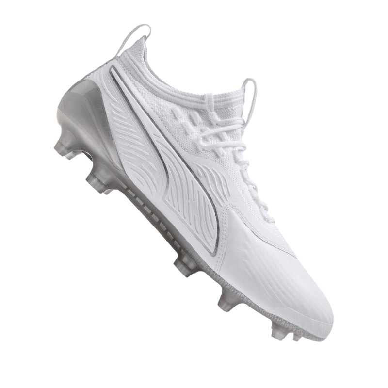 PUMA ONE 19.1 Limited Edition FG/AG Weiss F02 - weiss