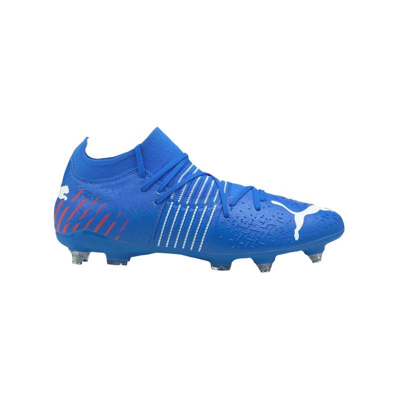PUMA FUTURE Z 3.2 Faster Football MxSG Blau Rot F01 - blau