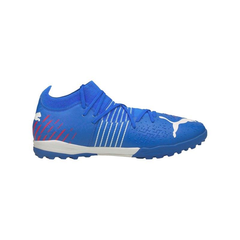 PUMA FUTURE Z 3.2 Faster Football TT Blau Rot F01 - blau