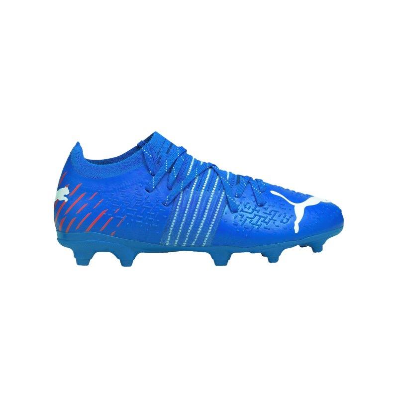 PUMA FUTURE Z 2.2 Faster Football FG/AG Kids Blau Rot F01 - blau