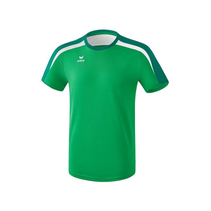 Erima Liga 2.0 T-Shirt Grün Weiss - gruen