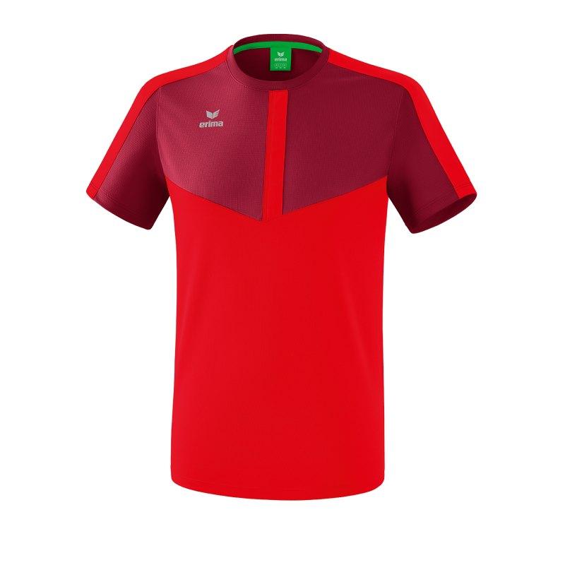 Erima Squad T-Shirt Rot - rot