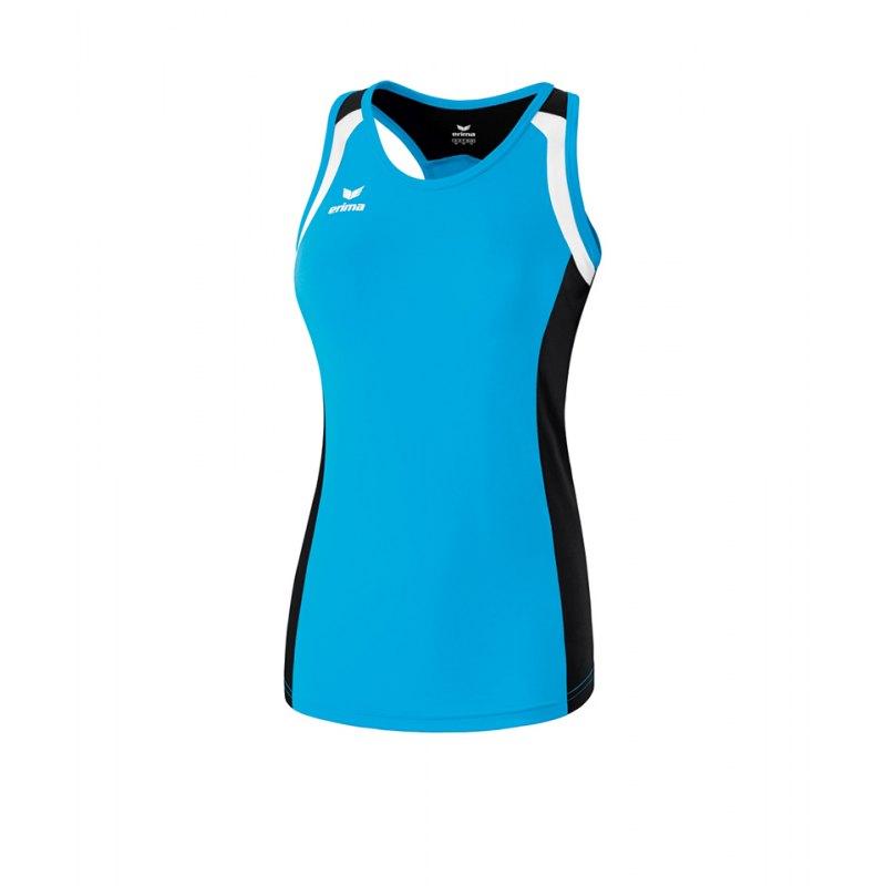 Erima Tanktop Razor 2.0 Damen Hellblau Schwarz - blau