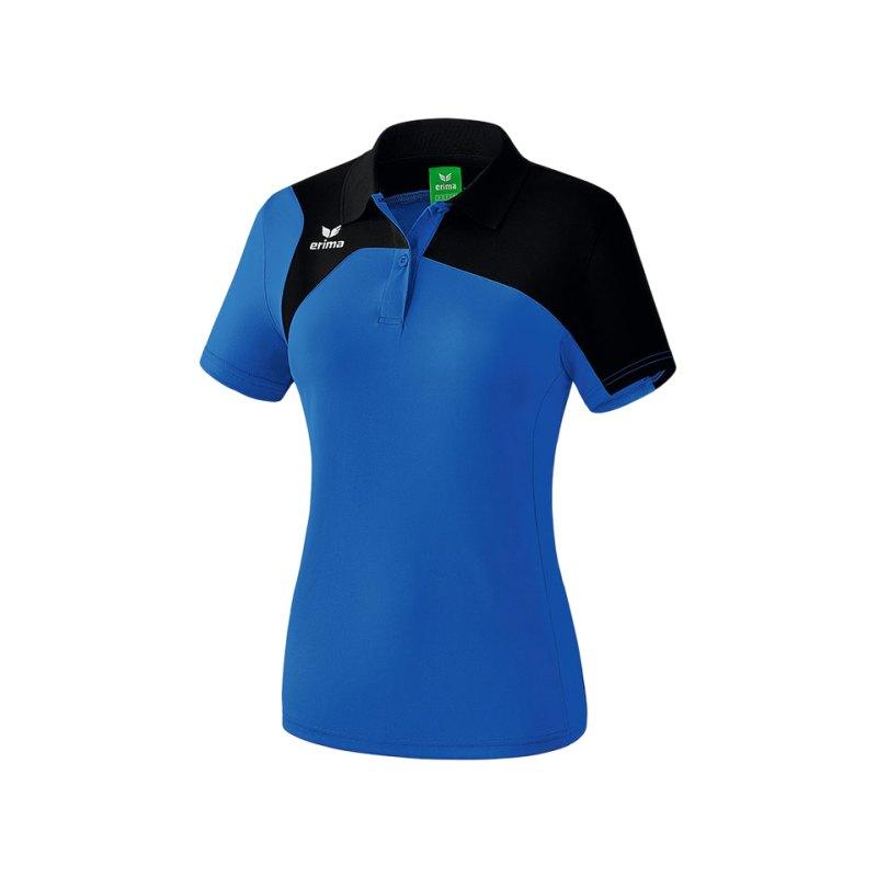 Erima Poloshirt Club 1900 2.0 Damen Blau - blau