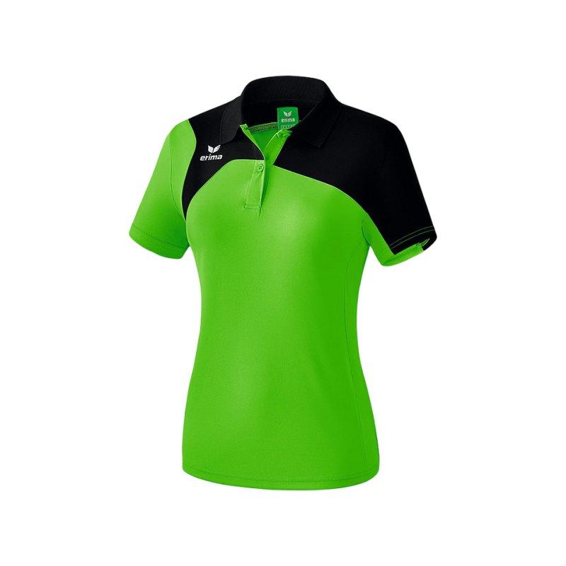Erima Poloshirt Club 1900 2.0 Damen Grün Schwarz - gruen