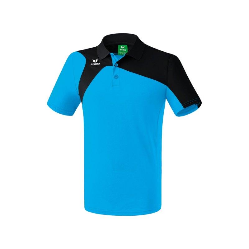 Erima Poloshirt Club 1900 2.0 Kinder Hellblau - blau