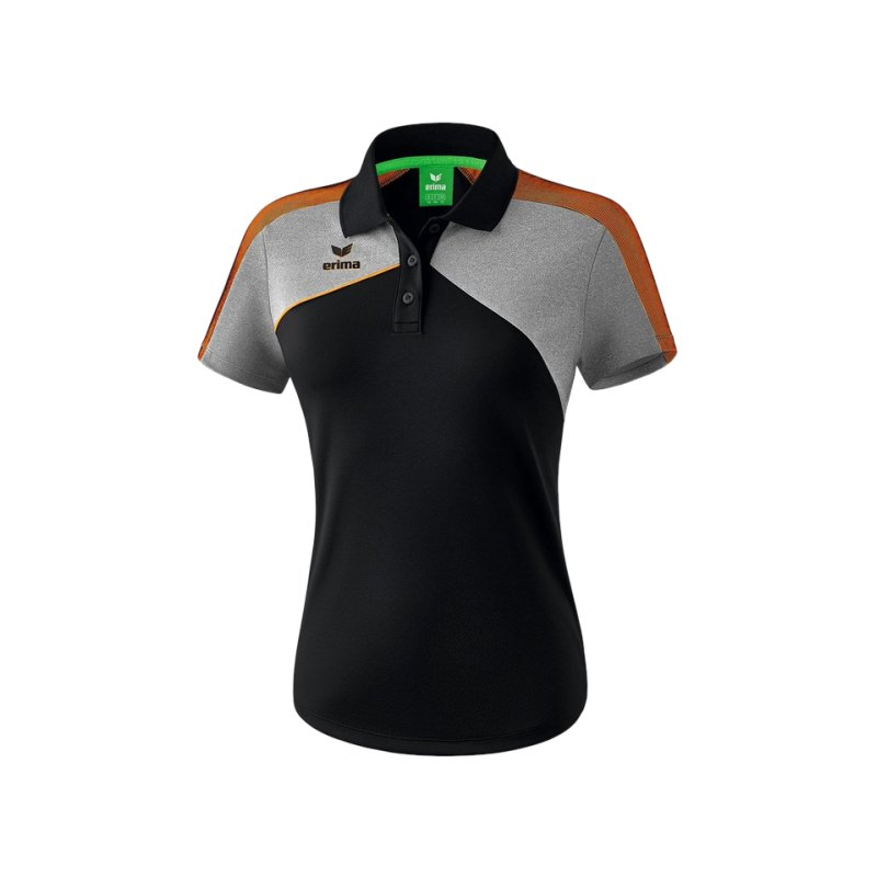 Erima Premium One 2.0 Poloshirt Damen Orange - orange