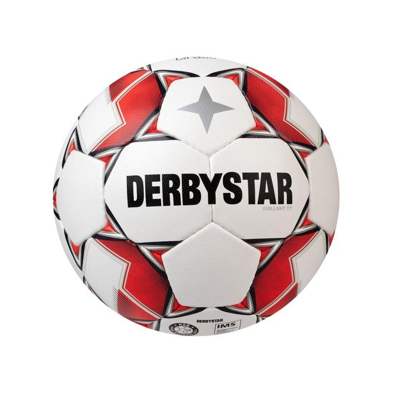 Derbystar Brillant TT AG V20 Fussball Weiss F130 - weiss