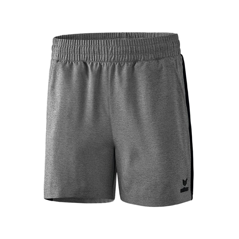 Erima Premium One 2.0 Short o. Slip Damen Grau - grau