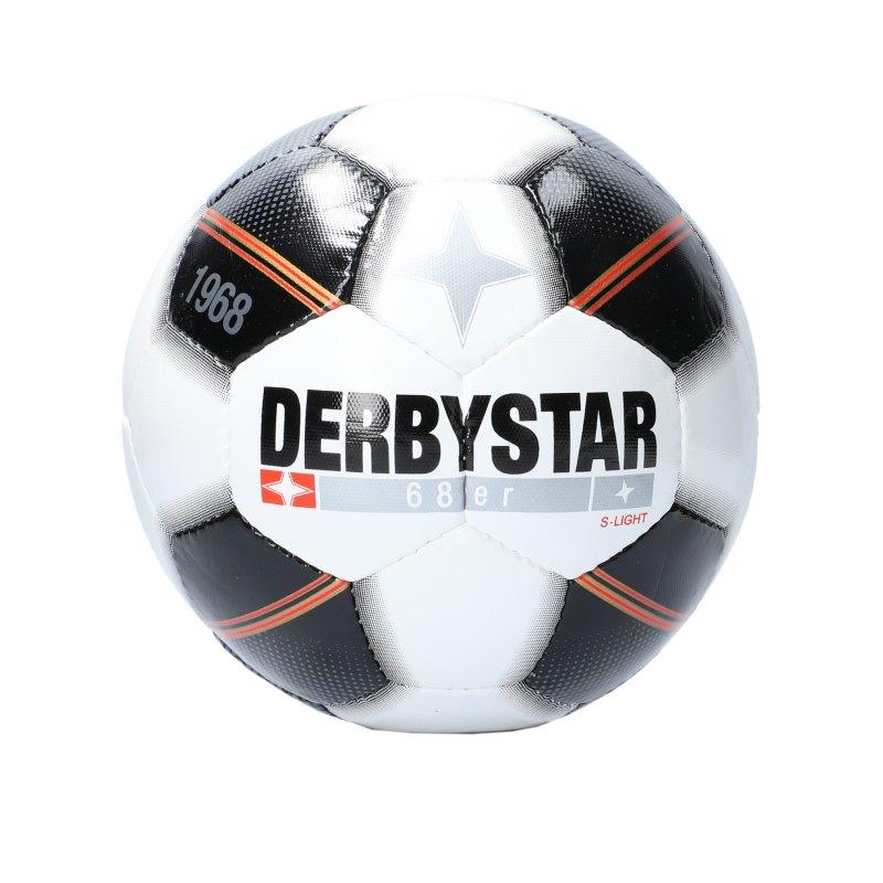 Derbystar 68er S-Light Fussball F123 - weiss