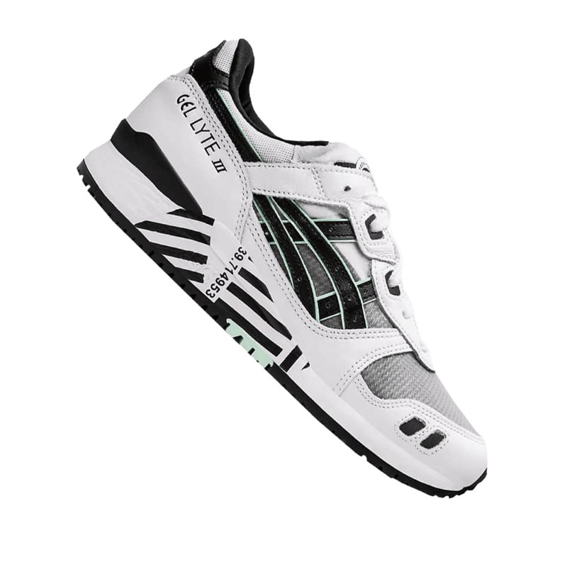 Asics Gel Lyte III OG Sneaker Damen Weiss F100 - weiss