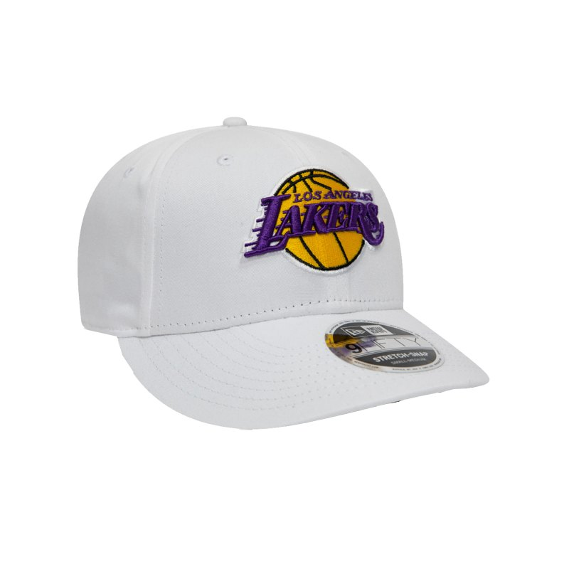New Era LA Lakers 9Fifty Cap Weiss - weiss