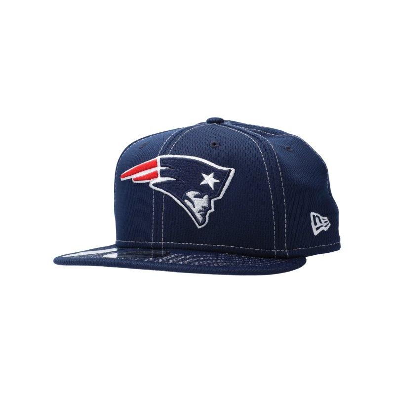 New Era ONF19 New England Patriots 9Fifty Cap Blau - blau