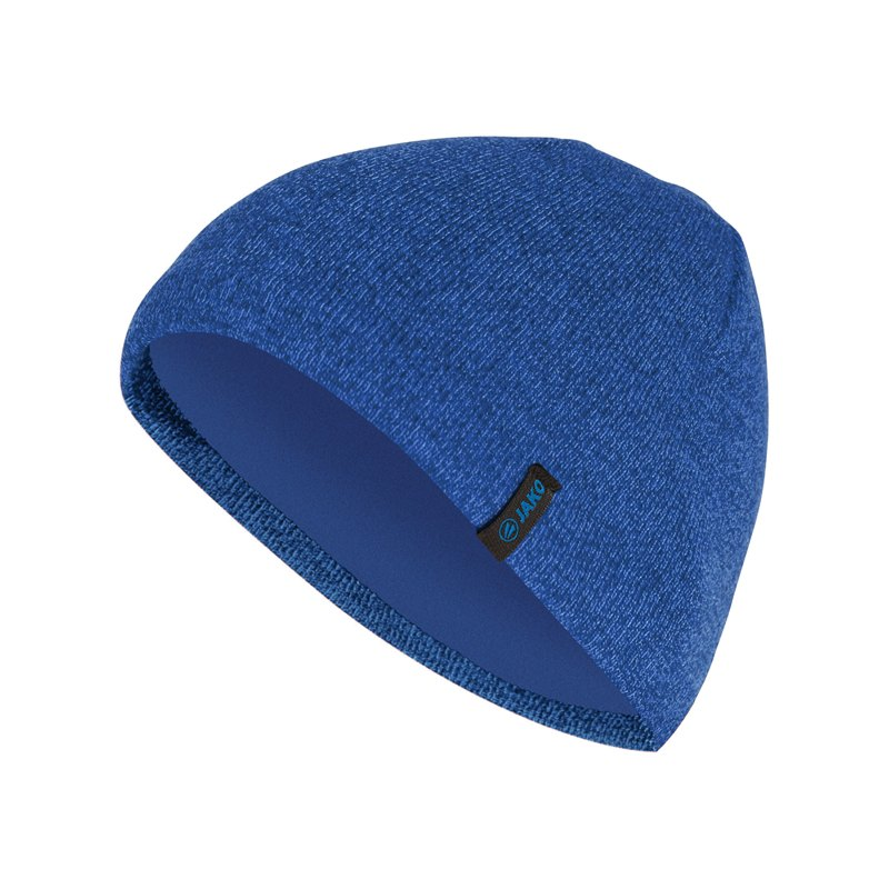 Jako Strickmütze Blau F04 - blau