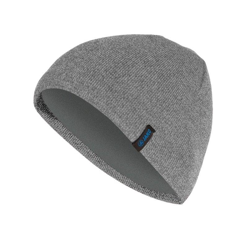 Jako Strickmütze Grau F21 - grau