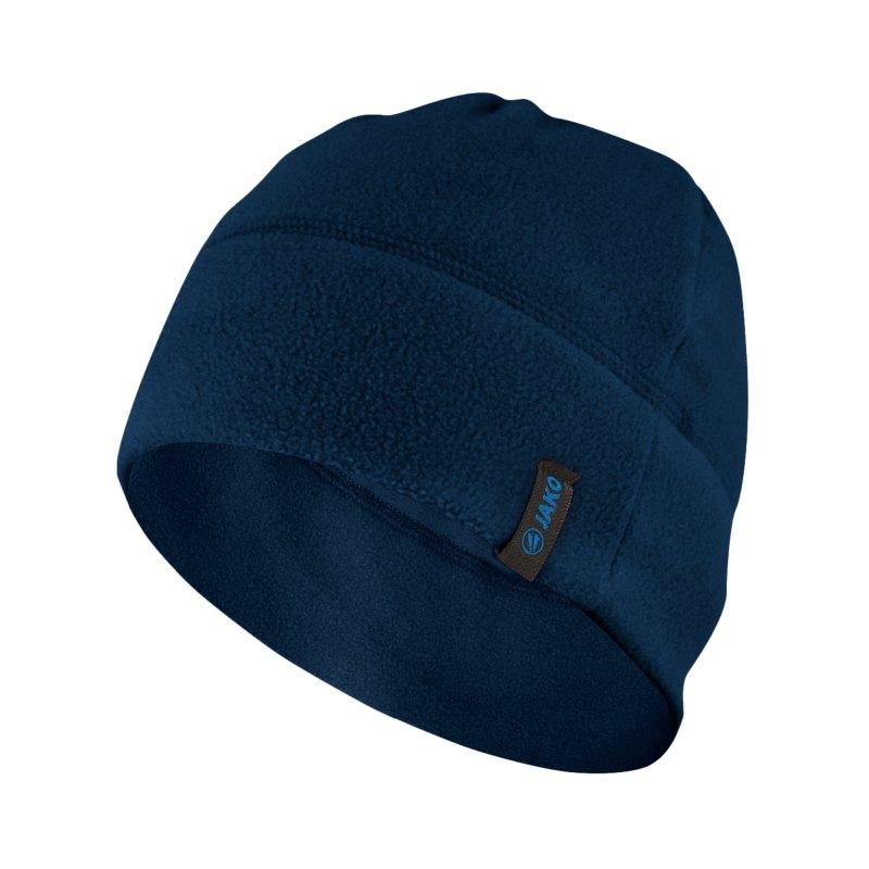 Jako Fleecemütze Blau F09 - blau