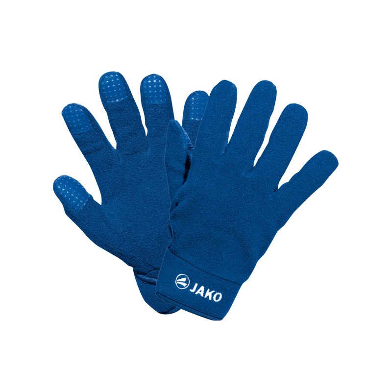 Jako Feldspielerhandschuh Fleece Blau F04 - blau