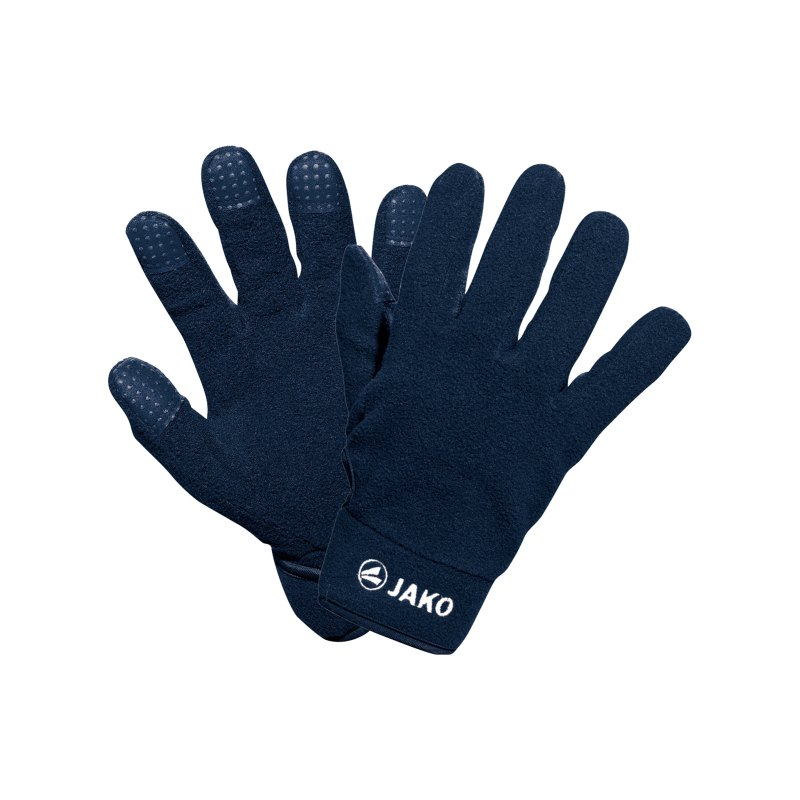 Jako Feldspielerhandschuh Fleece Blau F09 - blau