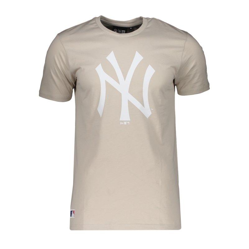New Era NY Yankees Seasonal T-Shirt Beige FSTNWHI - beige