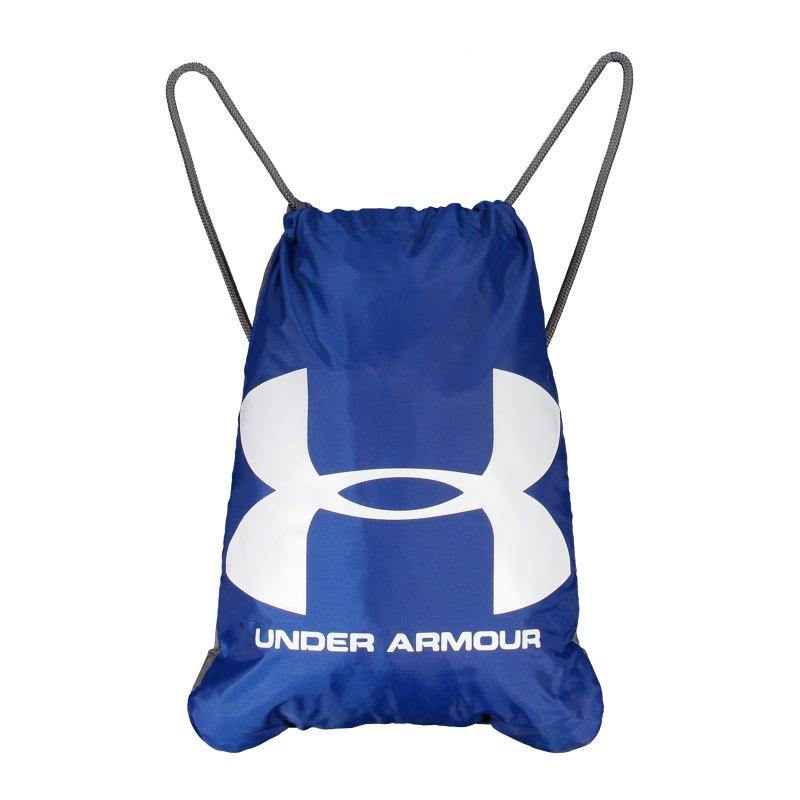 Under Armour Ozsee Sackpack Sportbeutel Blau F402 - blau